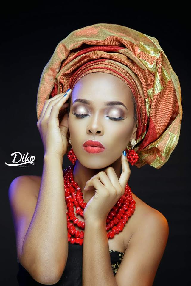 LoveweddingsNG Traditional Bridal Inspiration T.Alamode Makeup4