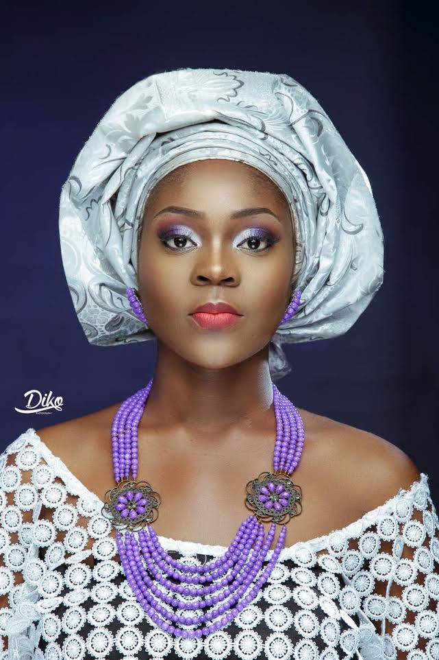 LoveweddingsNG Traditional Bridal Inspiration T.Alamode Makeup5