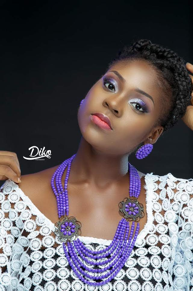 LoveweddingsNG Traditional Bridal Inspiration T.Alamode Makeup7