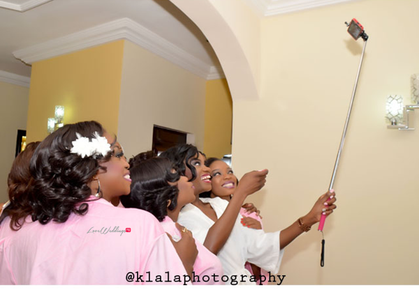 LoveweddingsNG White Wedding Temilade and Segun