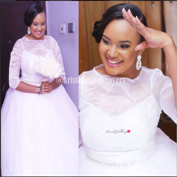 LoveweddingsNG White Wedding Tosan and Gbemi2