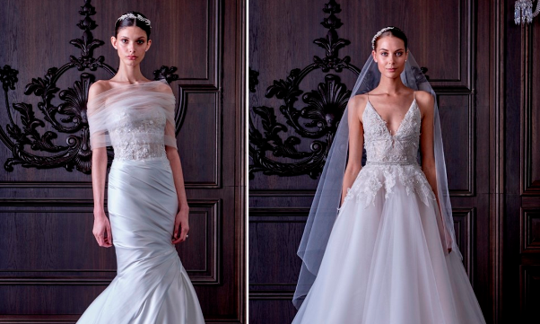 Monique Lhuillier's Spring 2016 Bridal Collection - LoveweddingsNG feat