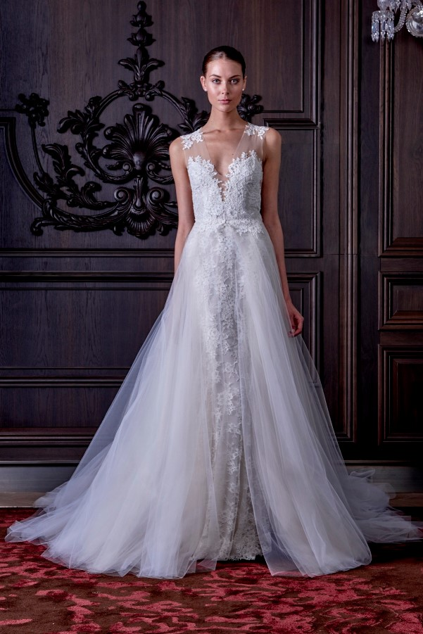 Monique Lhuillier's Spring 2016 Bridal Collection - LoveweddingsNG10
