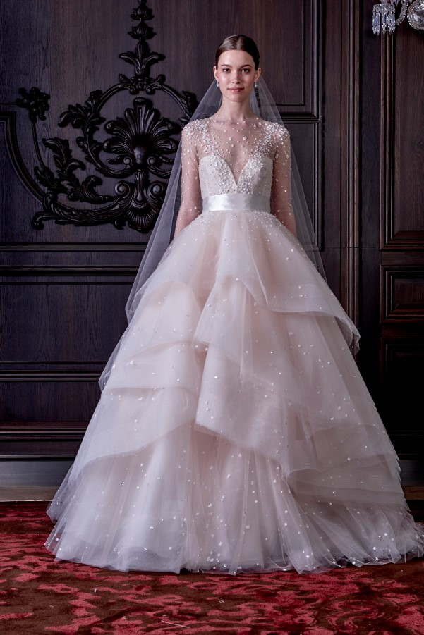 Monique Lhuillier's Spring 2016 Bridal Collection - LoveweddingsNG11