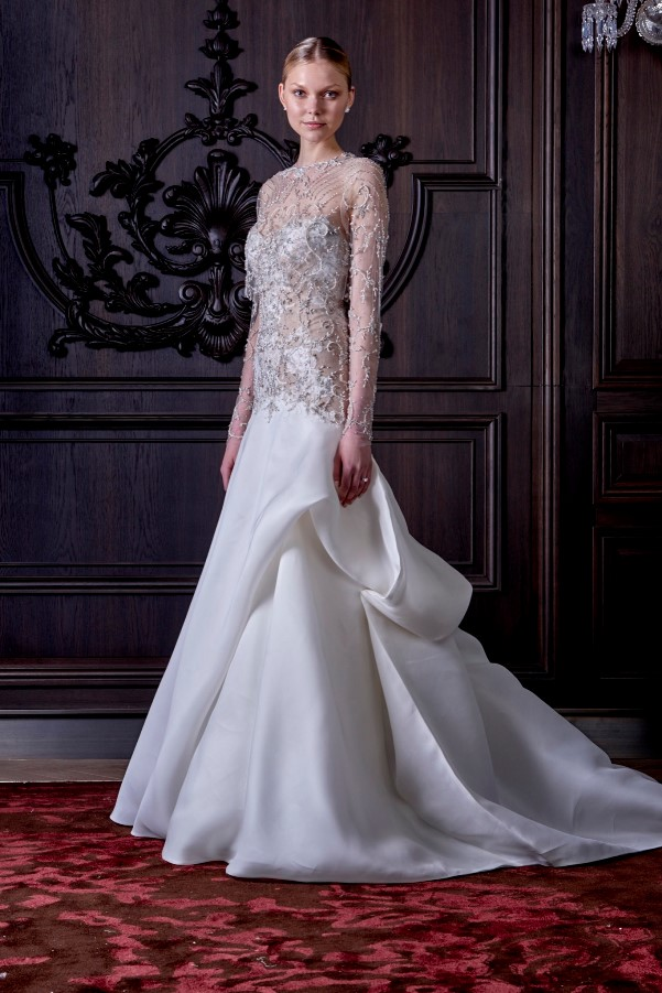 Monique Lhuillier's Spring 2016 Bridal Collection - LoveweddingsNG15