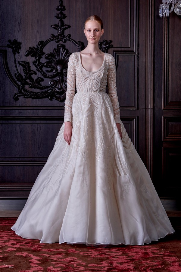 Monique Lhuillier's Spring 2016 Bridal Collection - LoveweddingsNG16