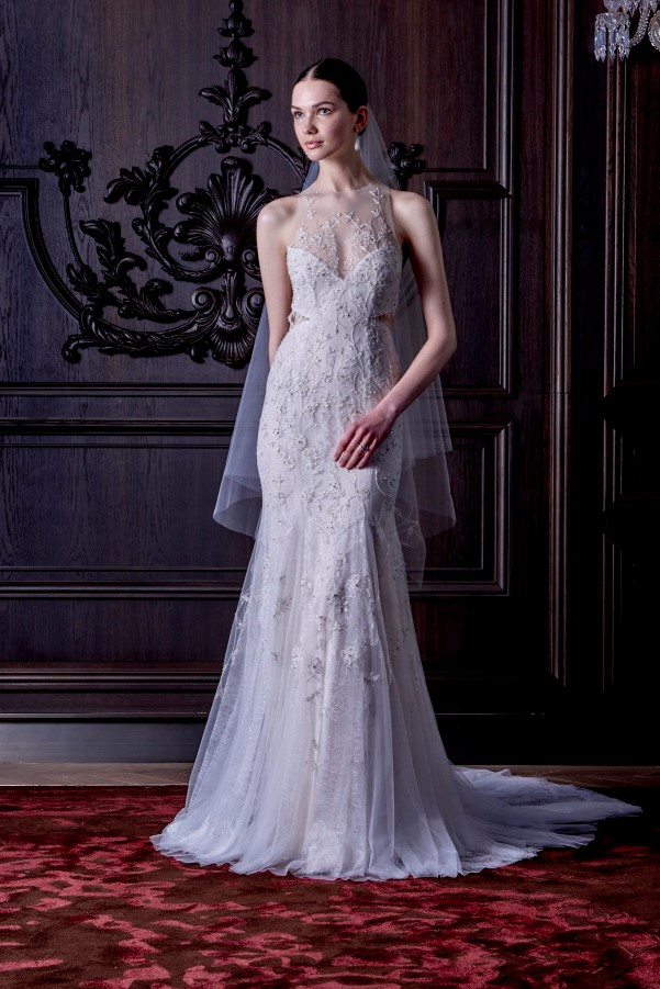 Monique Lhuillier's Spring 2016 Bridal Collection - LoveweddingsNG3