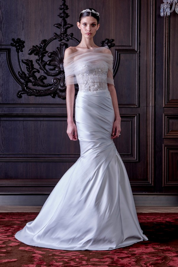 Monique Lhuillier's Spring 2016 Bridal Collection - LoveweddingsNG4