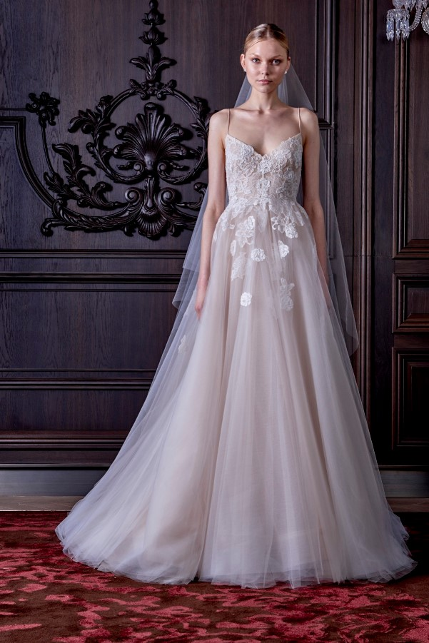 Monique Lhuillier's Spring 2016 Bridal Collection - LoveweddingsNG5
