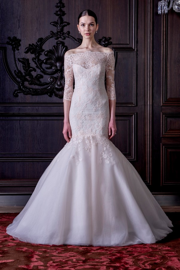 Monique Lhuillier's Spring 2016 Bridal Collection - LoveweddingsNG9