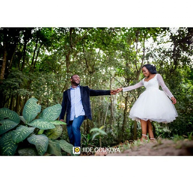 Onyinye Carter and Bosah Chukwuogo Pre Wedding LoveweddingsNG