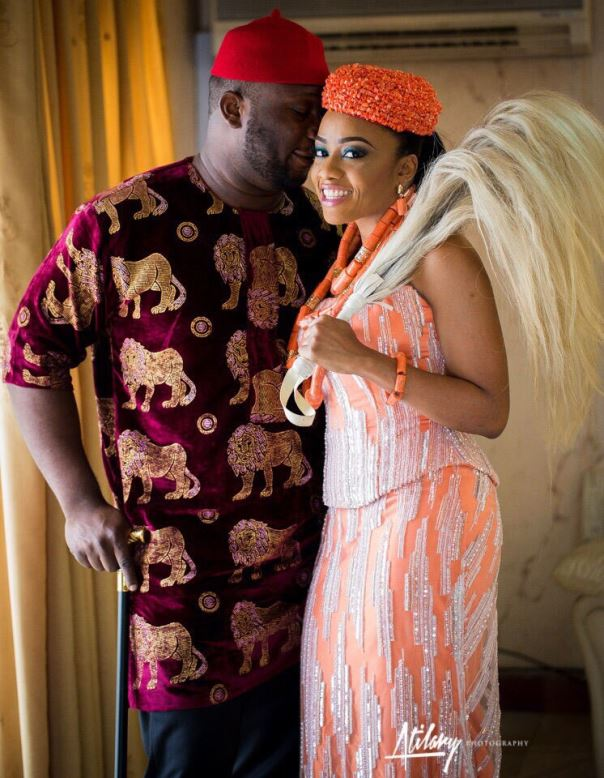 Onyinye Carter and Bosah Chukwuogo Wedding LoveweddingsNG