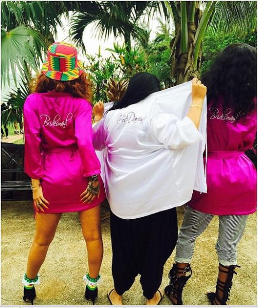 Rihanna Bridesmaid LoveweddingsNG1