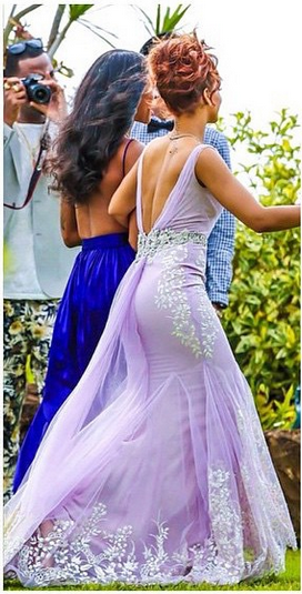 Rihanna Bridesmaid LoveweddingsNG3
