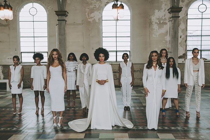 Solange Inspired Pose LoveweddingsNG