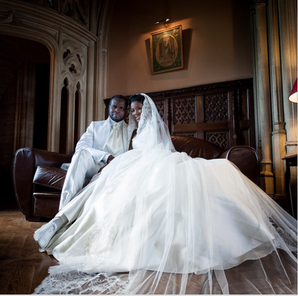 Stephaine Linus Idahosa Wedding Anniversary LoveweddingsNG