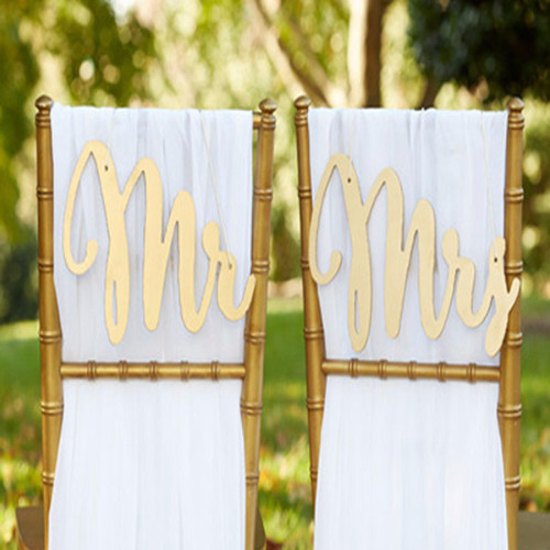 The Artisans Gift Company Anniversary LoveweddingsNG - Mr. & Mrs. Chair Backers