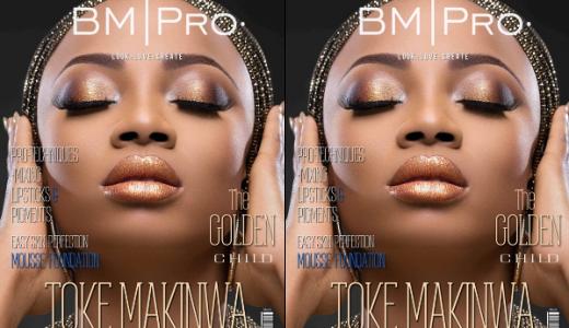 Toke Makinwa BM Pro Covers LoveweddingsNG feat