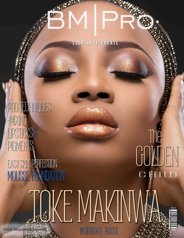 Toke Makinwa BM Pro Covers LoveweddingsNG