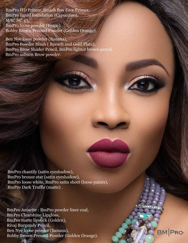 Toke Makinwa BM Pro Covers LoveweddingsNG1