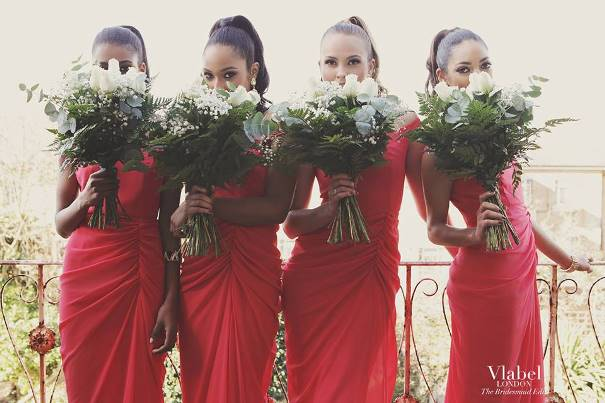 VLabel London The Bridesmaids Edit - India Dress LoveweddingsNG