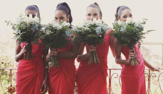 VLabel London The Bridesmaids Edit - India Dress LoveweddingsNG