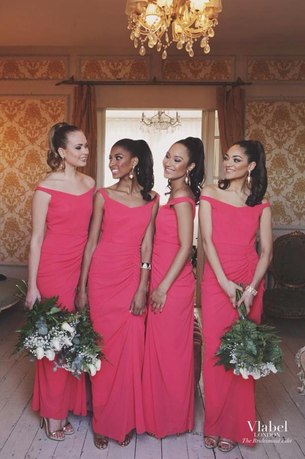 VLabel London The Bridesmaids Edit - Pink LoveweddingsNG