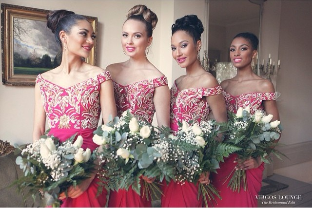 Virgos Lounge Bridesmaid Edit Summer 2015 Berry LoveweddingsNG