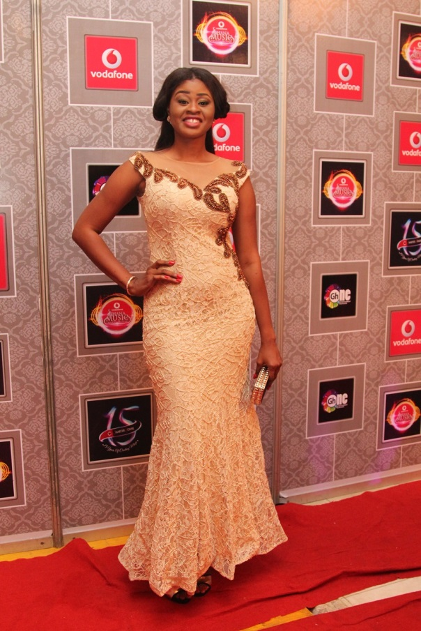 Vodafone Ghana Music Awards 2015 - Nana Ama LoveweddingsNG