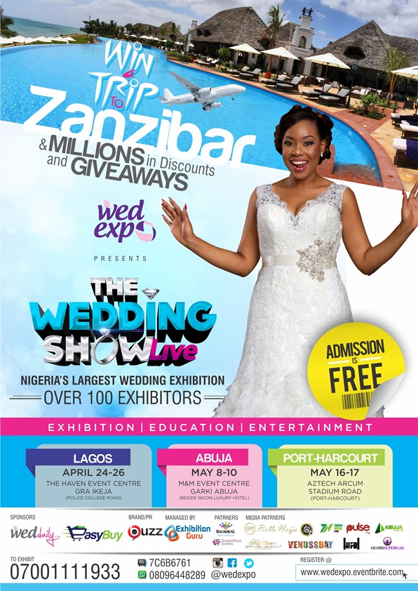 Wedexpo Zanzibar Flyer LoveweddingsNG