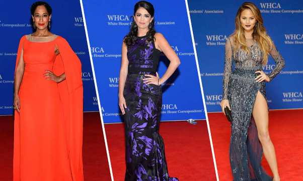 White House Correspondents Dinner -  LoveweddingsNG feat