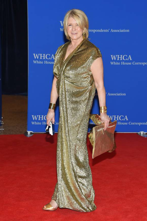 White House Correspondents Dinner - Martha Stewart LoveweddingsNG