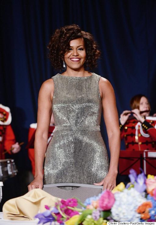 White House Correspondents Dinner - Michelle Obama LoveweddingsNG