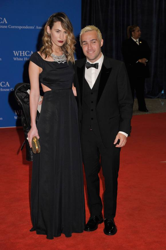 White House Correspondents Dinner - Pete Wentz and Meagan Camper LoveweddingsNG