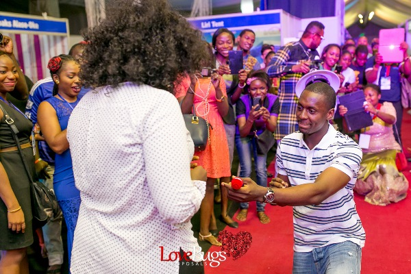 Zainab Azeez Damilola Wed Expo Proposal LoveweddingsNG10