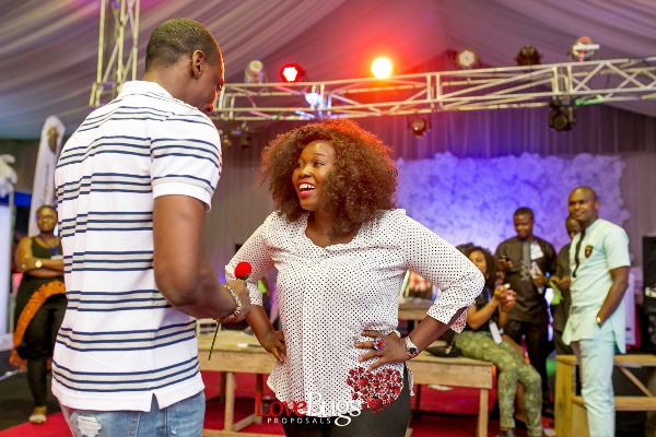 Zainab Azeez Damilola Wed Expo Proposal LoveweddingsNG6
