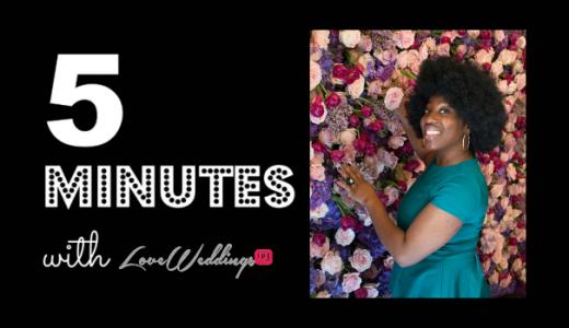 5 minutes with Barbara Afmena Events LoveweddingsNG