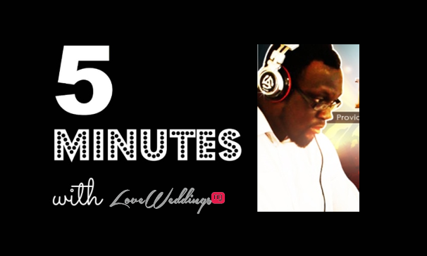 5 minutes with DJ Blitz Mix Masters Entertainment LoveweddingsNG