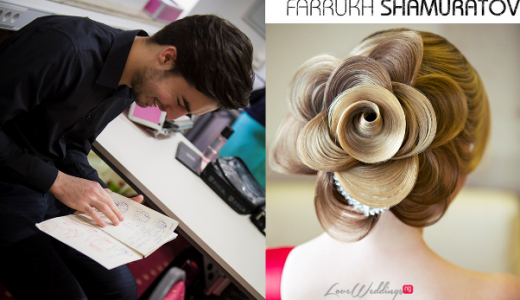 Bridal Hair Inspiration Farrukh Shamuratov LoveweddingsNG11