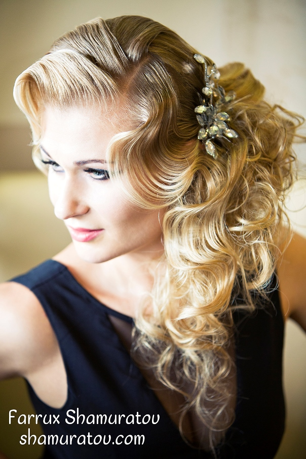 Bridal Hair Inspiration Farrukh Shamuratov LoveweddingsNG2