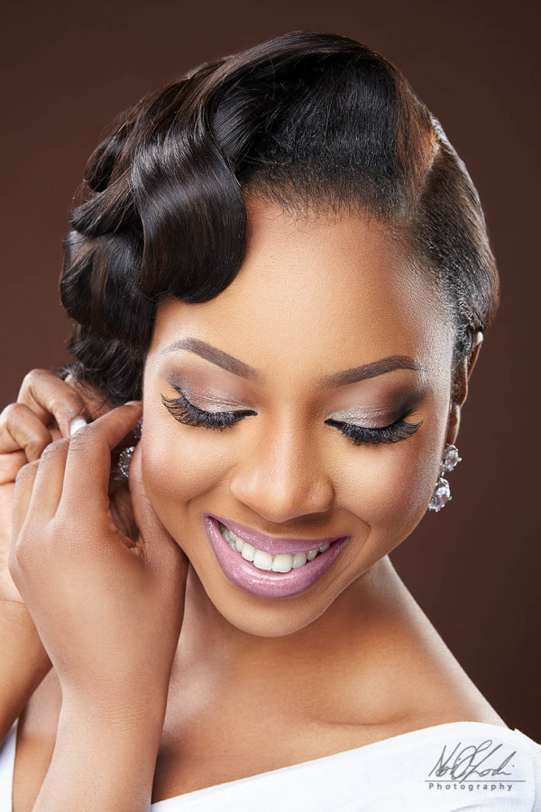 Wedding Makeup Looks For Black Hair : Bridal Makeup Inspiration Beauty Boudoir, Charis Hair and ...