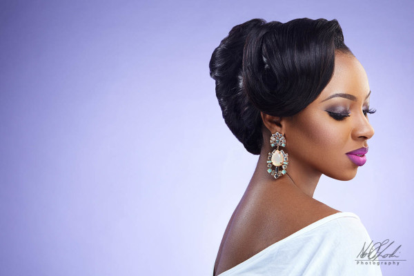 Bridal Makeup Inspiration Beauty Boudoir, Charis Hair and AO Photography LoveweddingsNG - Stella2