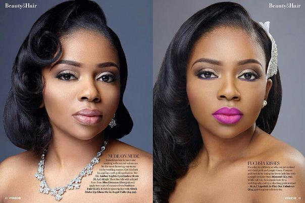 Bridal Makeup Inspiration by Kemi Kings LoveweddingsNG 1