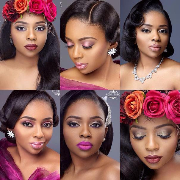 Bridal Makeup Kemi Kings LoveweddingsNG