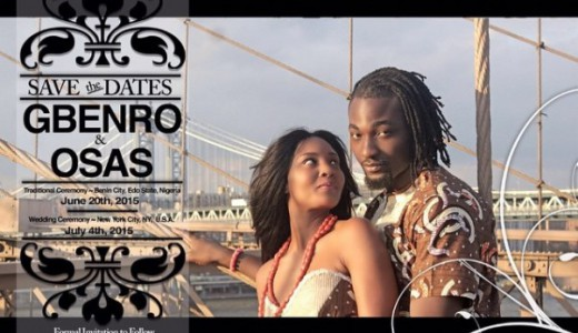 Gbenro Ajibade Osas Ighodaro Wedding LoveweddingsNG