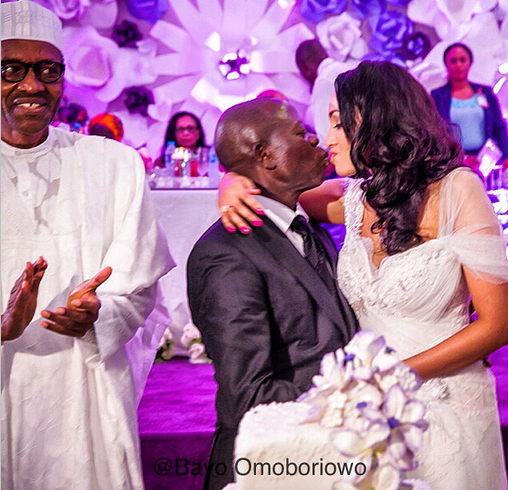Governor Adams Oshiomole weds Lara Fortes LoveweddingsNG