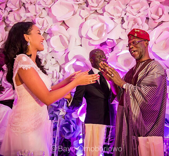 Governor Adams Oshiomole weds Lara Fortes LoveweddingsNG3