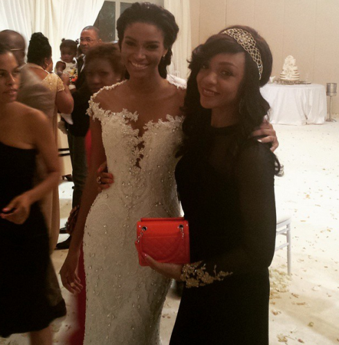Leila Lopes and Osi Umenyiora LoveweddingsNG - Fifi