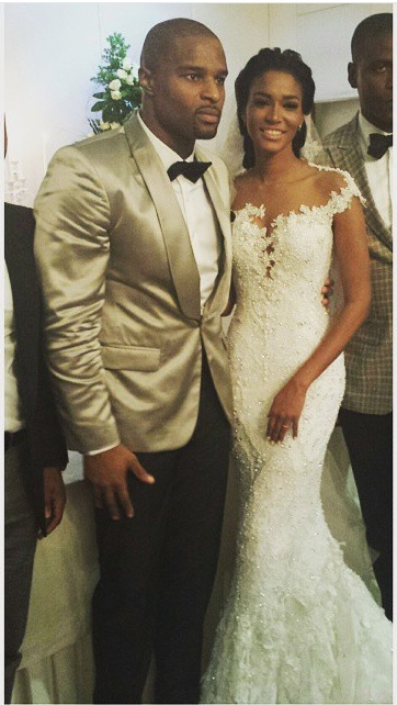 Leila Lopes and Osi Umenyiora LoveweddingsNG