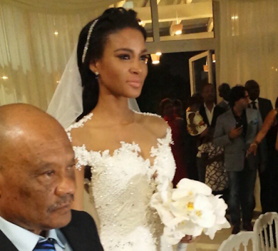 Leila Lopes and Osi Umenyiora LoveweddingsNG2